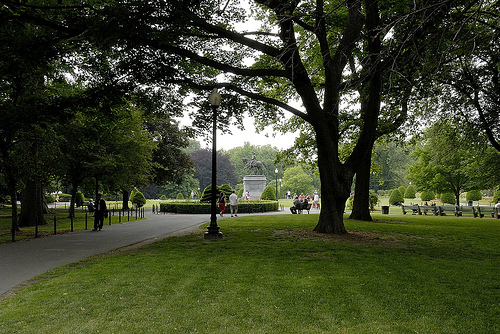 Touring Boston's Public Garden