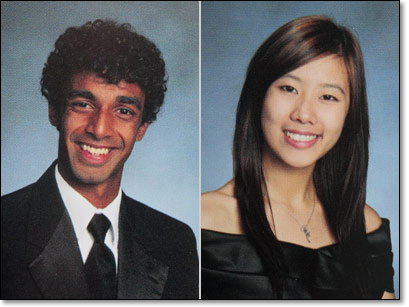 Dharun Ravi and Molly Wei